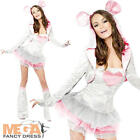 Sexy Mouse Ladies Fancy Dress Fever Tutu Animal Adults Womens Costume Outfit New