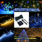 Solar Powered LED String Fairy Light 56ft 17m 100 LEDs Outdoor Garden Waterproof