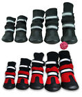 Pet Snow Boots Protective Shoes All Weather Small Large Dog Booties Socks Warm