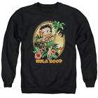 Betty 1930's Boop Cartoon American Icon Hula Boop II Adult Crewneck Sweatshirt $54.33 CAD on eBay
