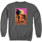Betty Boop Cartoon Betty & Bimbo Summer Surf Adult Crewneck Sweatshirt $33.95 USD