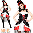 Burlesque Victorian Vampire Ladies Halloween Vampiress Adults Costume Outfit New