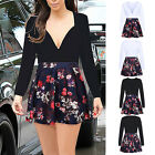Women's Long Sleeve Casual Summer Evening Cocktail Party Chiffon Mini Dress 3