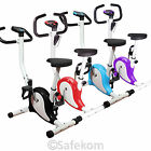 New Gym Body Fitness Cardio Workout Trainer Exercise Bike Adjustable Resistance