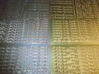 2 x Baby & Family Words Peel Offs Gold Or Silver Various Designs