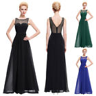 Ladies Maxi Bridesmaids Ball Gown Homecoming Evening Prom Formal Dress Size 4~18