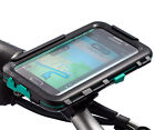 Motorcycle Locking Strap Bike Mount + Waterproof Case for Galaxy S6 S6 Edge 5.1
