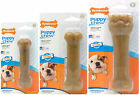 NYLABONE PUPPY DOG BONE CHICKEN CHEW TOY HEALTHY TEETHING AID