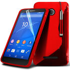 S Line Wave Gel Silicone Case Cover For Sony Xperia E4G
