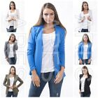 Ladies Jacket One Size 8/10/12 Women's Cape Long Sleeve