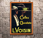 L Voisin Cafes - Vintage Advertisement/Poster