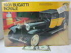 NEW IN BOX WRAPPED 1931 BUGATTI ROYALE model 1/24  - car will be 9 9/16 inches