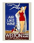 Great Western Railway - Weston - Reproduction British Railways Travel Poster