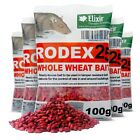 Rodex25 Rat Poison Mouse Killer Strong Whole Wheat Bait