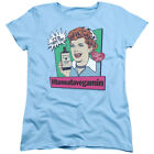 I Love Lucy 50's TV Series Vita Comic Women's T-Shirt Tee