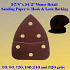 Mouse Detail Sander Sandpaper Hook & Loop 60-240 Grit For Craftsman Ryobi Dewalt