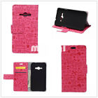 Cute pretty little girl Wallet Stand leather case cover for various LG Motorola
