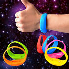 Motion Activated LED Glowing Silicone Bracelet Wristband for Night Activity