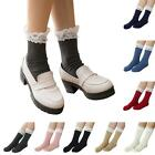 Fashion creative luxury vintage gifts Lace Cotton Knit Footed Leg Stocking Socks