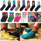 Unique Famous Painting Art Socks Novelty Funny Novelty For Men Women mous