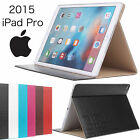Luxury Leather Slim Flip PU Leather Stand Case for 12.9 inch Apple iPad Pro New