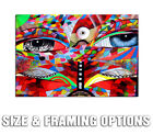 CHOR BOOGIE FACE MODERN GRAFFITI STREET ART HIGH QUALITY CANVAS POSTER PRINT