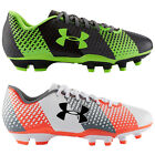 UNDER ARMOUR JUNIOR CF FORCE FG FOOTBALL BOOTS - NEW KIDS CHILDRENS SOCCER SHOES