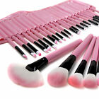 Professionelle 32tlg Kosmetik Pinsel Makeup Brush Schminkpinsel Set Schwarz Rosa
