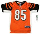 Youth Sized NFL Cincinnati Bengals Chad OchoCinco # 85 Throwback Football Jersey $19.75 USD on eBay