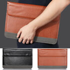 "Leather Laptop Sleeve Bag Case Cover for Apple Macbook Pro Retina Air 11/13""inch"