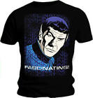 Official T Shirt STAR TREK Vulcan Spock FASCINATING Vintage All Sizes