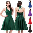 plus Vintage Retro Swing 50s 60s Housewife Pinup Rockabilly Party Prom Dresses