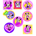 Disney Minnie Mouse Cute Patches Woven Iron / Sew On Motif Applique