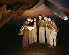 YB-17 bomber crew receives instructions at Langley Field Virginia Photo Print