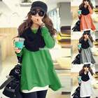 New Women Loose Oversize Blouse Tops Batwing Sleeve Long Casual T-Shirt Stylish