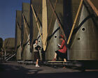 Women inspect airplane wings at Douglas Aircraft Company WWII Photo Print
