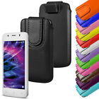 Magnetic PU Leather Pull Flip Tab Case Cover Pouch For Aldi Medion Life E4506