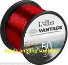 Fladen Vantage Pro Bulk Spool Red Sea Fishing Line for Fixed Or multiplier Reel