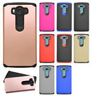 For LG V10 HARD Astronoot Hybrid Rubber Silicone Case Phone Cover + Screen Guard