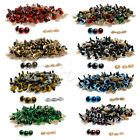 100pcs 10-18mm Plastic Safety Eyes For Teddy Bear Doll Animal Puppet Craft