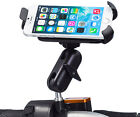 Motorcycle M10 Stud Ball Extended Mount + Holder for Apple iPhone 6 6s Plus 5.5""