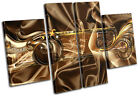Modern Luxury Abstract MULTI CANVAS WALL ART Picture Print VA