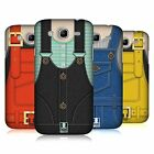 HEAD CASE DESIGNS OVERALL DENIM HARD BACK COVER FÜR SAMSUNG HANDYS 6