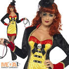 Sinful Ringmaster Ladies Halloween Circus Horror Fancy Dress Costume Outfit
