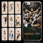 Ultra-thin Basketball NBA Stephen Curry Soft TPU Case for iPhone X 8 7 6s Plus 5