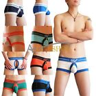 Sexy Men Bulge Enhancing Backless Boxer Briefs Shorts underwear Open Underpants