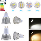 6W 8W 10W 14W MR16 GU10 LED Spot Light Lamp Plane Pearly Warm Cool White Bulb HK
