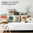 Cartoon Animal Marine Fishes Pillow Case Decor Cushion Cover Square Oblong Linen