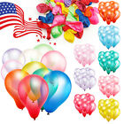 Внешний вид - 100pcs 10 inch colorful Pearl Latex Thickening Wedding Party Birthday Balloon