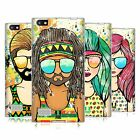 HEAD CASE DESIGNS HIPPY ESTIVI COVER MORBIDA IN GEL PER BLACKBERRY TELEFONI